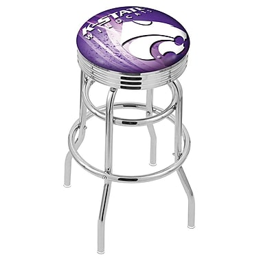 Holland Bar Stool NCAA 30'' Swivel Bar Stool; Kansas State