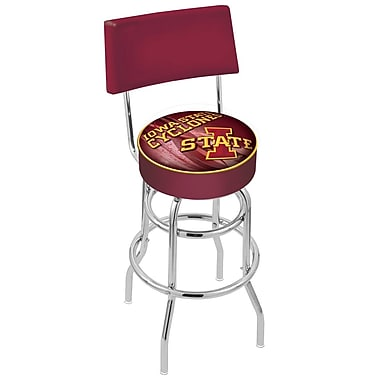 Holland Bar Stool NCAA 25'' Swivel Bar Stool; Iowa State