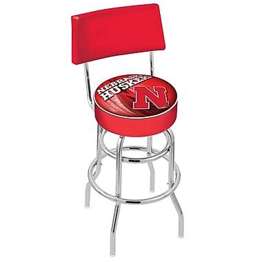 Holland Bar Stool NCAA 30'' Swivel Bar Stool; Nebraska