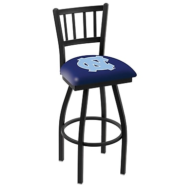 Holland Bar Stool NCAA 36'' Swivel Bar Stool; North Carolina