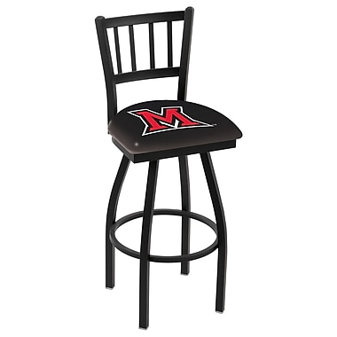 Holland Bar Stool NCAA 36'' Swivel Bar Stool; Miami (OH)