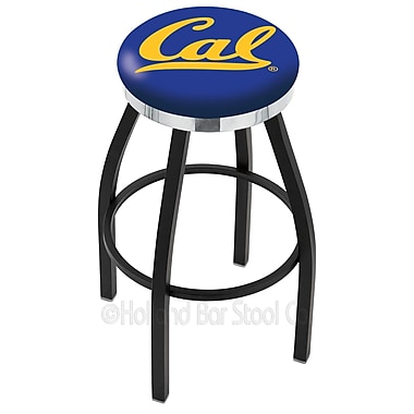 Holland Bar Stool NCAA 36'' Swivel Bar Stool; Cal