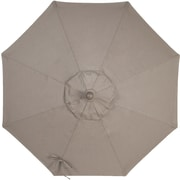 Click here to buy Amauri Outdoor Living, Inc 9' Sunbrella Replacement Canopy for Market Umbrella; Taupe.
