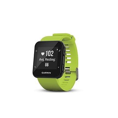 Garmin Forerunner® 35 Fitness Tracker Watch with Heart Rate Monitor, Lime (010-01689-01)