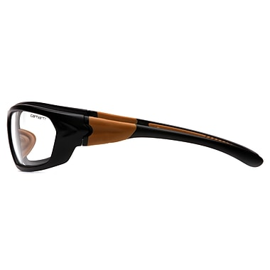 Carhartt – Lunettes de protection Carbondale, transparent, antibuée, 6/paquet