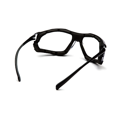 Pyramex Proximity Safety Eyewear Glasses, Clear H2X Anti-Fog, 12/Pack
