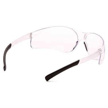 Pyramex Mini Ztek Safety Eyewear Glasses, Clear, 24/Pack