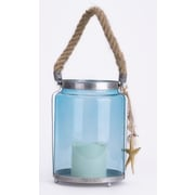 Glitzhome 1-Light Outdoor Hanging Lantern