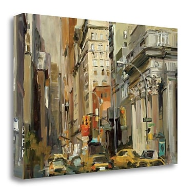 Tangletown Fine Art 'Union Square NY' Print on Wrapped Canvas; 23'' H x 34'' W