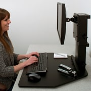 Symple Stuff 15.5'' H x 28'' W Standing Desk Conversion Unit