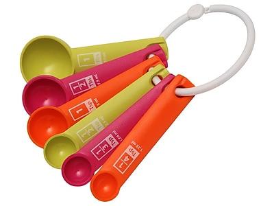 Victorio 6 Piece Plastic Measuring Spoon Set