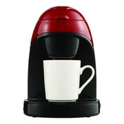 Brentwood Single Cup Coffee Maker; Red