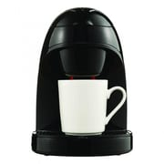 Brentwood Single Cup Coffee Maker; Black
