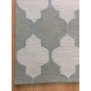 Eastern Weavers Wool Hand-Tufted Ivory/Green Area Rug