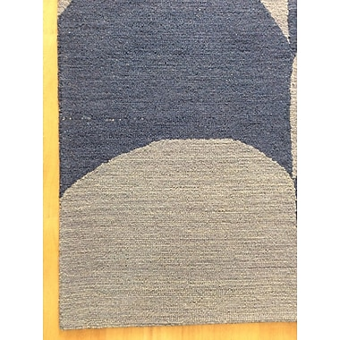 Eastern Weavers Wool Hand-Tufted Silver/Blue Area Rug