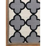 Eastern Weavers Wool Hand-Tufted Ivory/Gray Area Rug