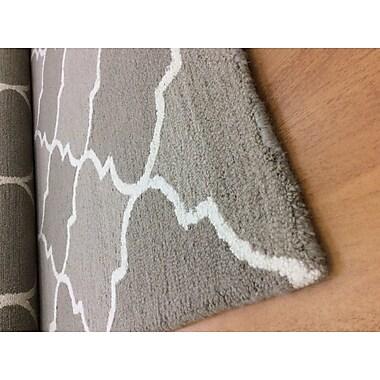 Eastern Weavers Wool Hand-Tufted Gray/Ivory Area Rug