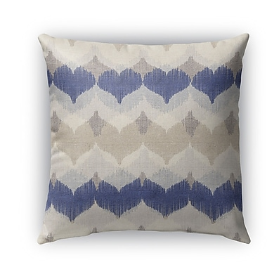 Ivy Bronx Dylan Burlap Indoor/Outdoor Throw Pillow; 18'' H x 18'' W x 5'' D