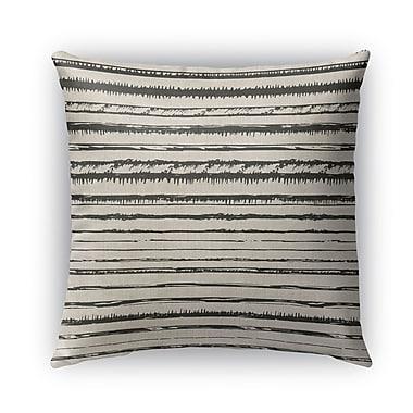 Union Rustic Quintana Burlap Indoor/Outdoor Pillow; 16'' H x 16'' W x 5'' D
