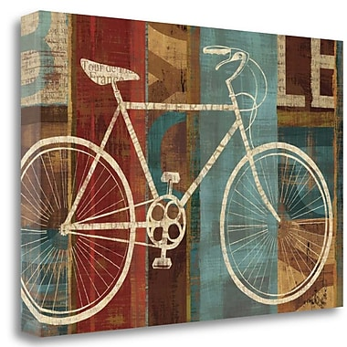 Tangletown Fine Art 'Breaking Away' Graphic Art Print on Wrapped Canvas; 23'' H x 34'' W