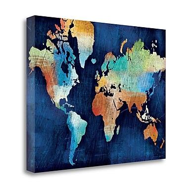 Tangletown Fine Art 'Seasons Change' Graphic Art Print on Canvas; 35'' H x 47'' W