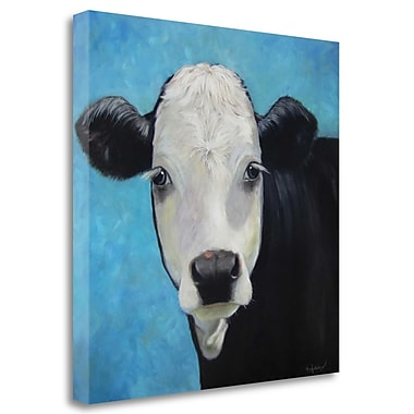 Tangletown Fine Art 'Maggie' Print on Wrapped Canvas; 25'' H x 25'' W