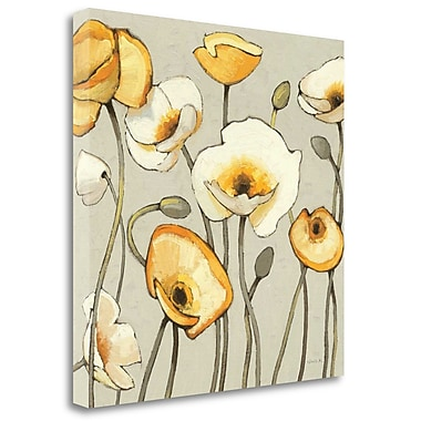 Tangletown Fine Art 'Jaune Gris III' Print on Wrapped Canvas; 35'' H x 35'' W