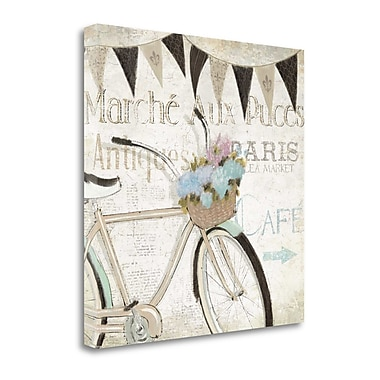 Tangletown Fine Art 'French Flea Market I' by Emily Adams Graphic Art on Wrapped Canvas