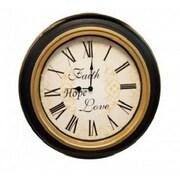 A&J Homes Studio Bollinger 21'' Wall Clock