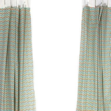 Pam Grace Creations Simply Striking Window Curtain Panels (Set of 2)
