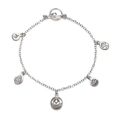 Satya Silver Charm Bracelet