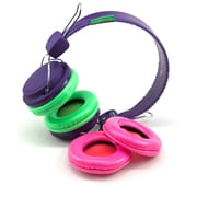 SMS Audio KS-GDIY-ROH-PRP Girls DIY Headphones, Purple