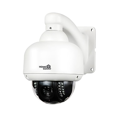 Homeguard 720p Outdoor Wireless Pan-Tilt-Zoom Dome Camera with 8GB SD Card (HGWOB753)