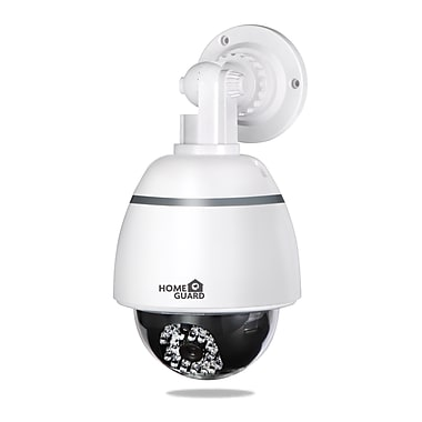 Homeguard Realistic Outdoor Dummy CCTV Dome Camera with Flashing LED (HGDOH6060)