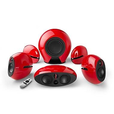 Edifier - Système de cinéma maison Luna E255 sans fil 5.1, son ambiophonique, rouge
