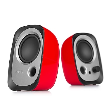 Edifier R12U-Red 2.0 USB Power Speaker, Red