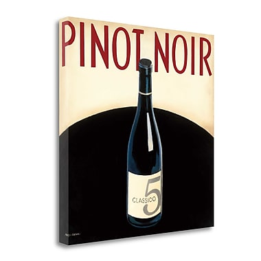 Tangletown Fine Art 'Vin Moderne I' Vintage Advertisement on Wrapped Canvas; 30'' H x 30'' W