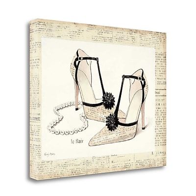 Tangletown Fine Art 'From Emilys Closet I' by Emily Adams Graphic Art on Wrapped Canvas