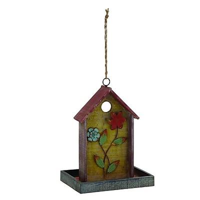 Cole & Grey Hanging Tray Bird Feeder (WYF078279855181) photo