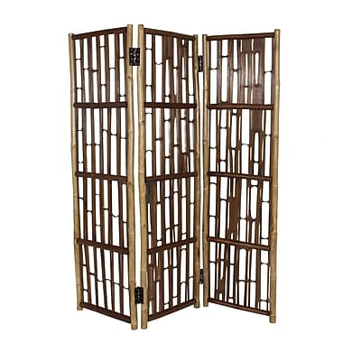 Buyers Choice Phat Tommy 69'' x 59'' 3 Panel Room Divider