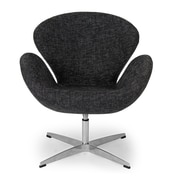 Kardiel Trumpeter Lounge Chair; Graphite