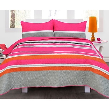 Maison Condelle Lauren Taylor Lawrence Quilt Set; Full/Queen