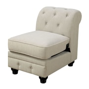 A&J Homes Studio Stanfordo Slipper Chair; Ivory