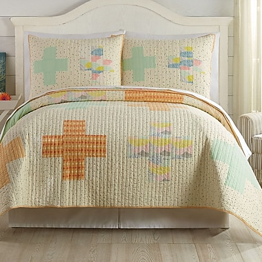 Makers Collective Hillside Springs by Bonnie Christine Quilt Set ; Full/Queen