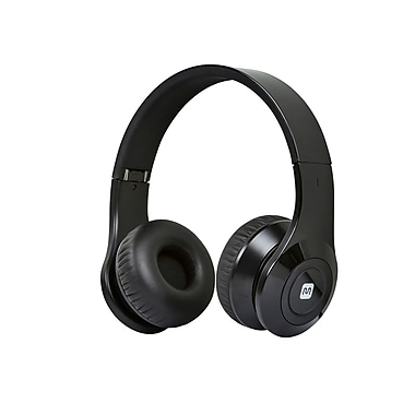 Bluetooth® On-the-Ear Headphones with Built-in Microphone-Black