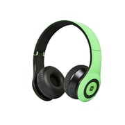 Bluetooth® On-the-Ear Headphones with Built-in Microphone-Green