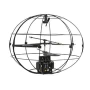 Flying Sphere Indoor RC Helicopter with Gyro, 3.5 Channel - Black