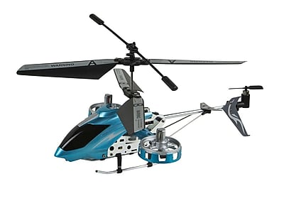 Sky Shark RC Helicopter with Gyro, 4.5 Channel - Blue