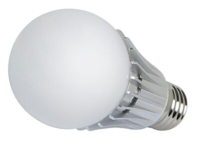 270 degrees 8-Watt (40W Equivalent) A 19 LED Bulb, 630 Lumens, Warm/ Soft (2900K) - Non-Dimmable