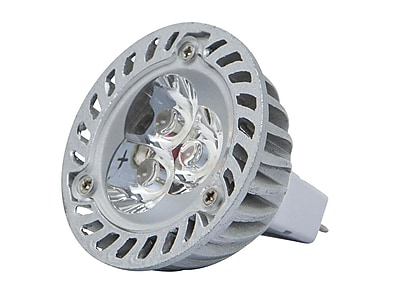 4-Watt (25W Equivalent) MR 16 GU 5.3 LED Bulb, 300 Lumens, Warm/ Soft (3000K) - Non-Dimmable